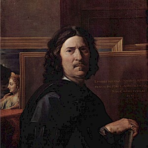 Self-Portrait (1650) by Nicolas Poussin in the Louvre, Paris (Photo courtesy of the Louvre)