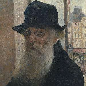 Self Portrait (1903) by Camille Pissarro, in the Tate Britain, London (Photo courtesy of Tate Britain)