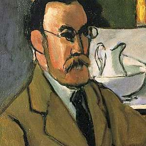 Self Portrait (1918) by Henri Matisse, in the Musée Départemental Henri Matisse, Le Cateau-Cambrésis, France (Photo courtesy of the Musée Départemental Henri Matisse)