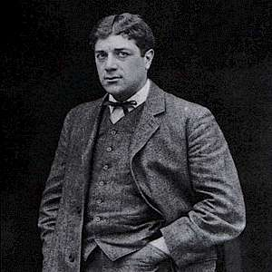 Georges Braque, 1908, photograph published in Gelett Burgess, The Wild Men of Paris, Architectural Record, May 1910 (Photo by anonymous)