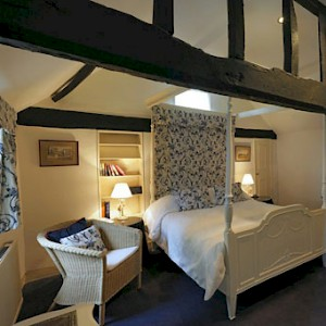 Room 3 at Bath Place Hotel, Oxford (Photo courtesy of Bath Place Hotel)