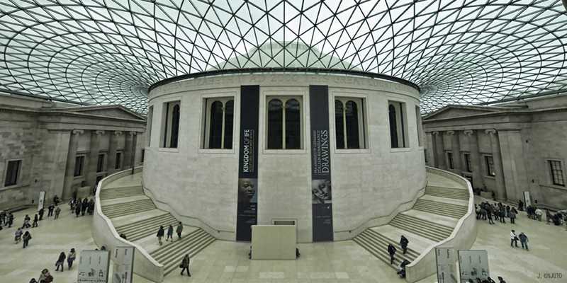 The Great Court at the British Museum (Photo by Javier Enjuto)