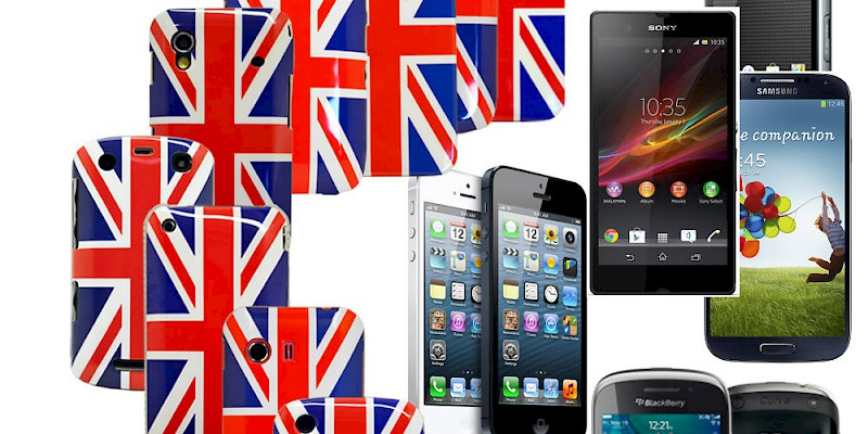Mobile phones in the U.K. (Photo courtesy of irnmdr64543)