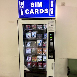 Heathrow airport even has SIM card vending machines if you have an unlocked phone (Photo by Karl Baron)