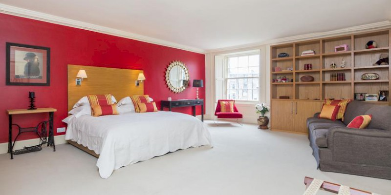 The Randolph Rooms B&B is in a classic Georgian crescent in Edinburgh's chic Princes Garden neighborhood, from £108, B&Bs, General (Photo courtesy of the property)