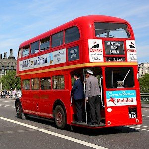 An old Routemaster bus (Photo ©)