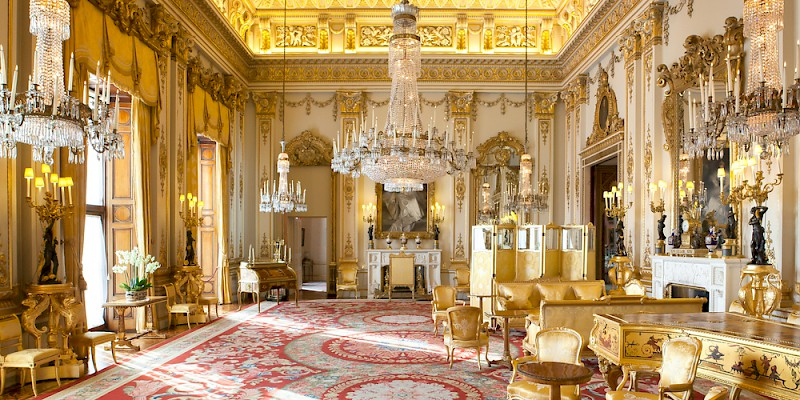 The White Drawing Room At Buckingham Palace Photo By Unknown