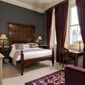 A room at The Gore Hotel, London (Photo courtesy of the hotel)
