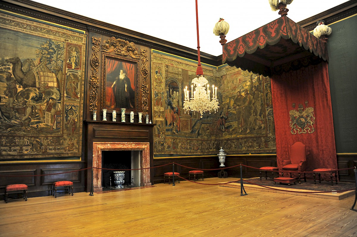 One Of William Iii S Private Apartments At Hampton Court Palace London