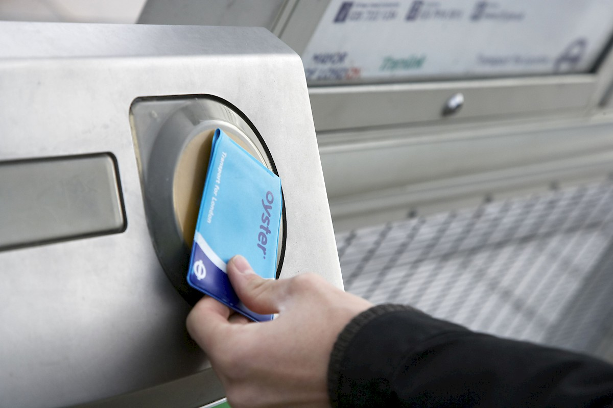 """oystercard electronic ticketing system System comparable to london's """"oyster card"""" the system will allow customers to tag on and  implementing an electronic ticketing system."""