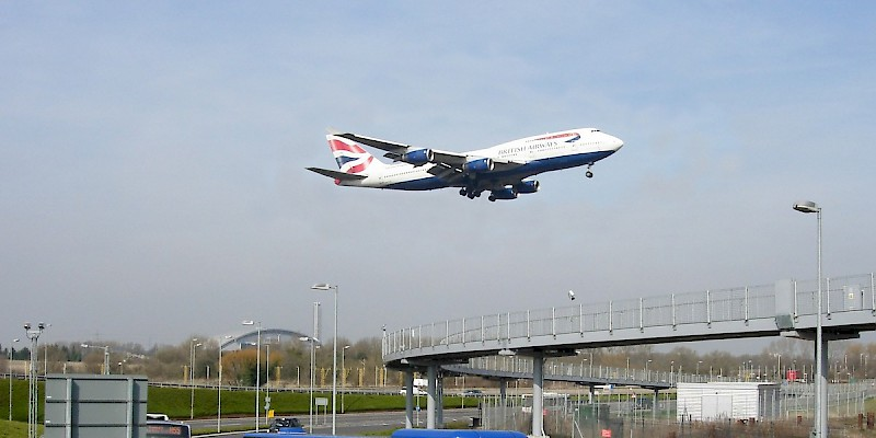 Arriving in London (Photo courtesy of Heathrow Airport Limited)