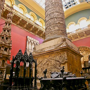 One of the Casts Courts at the V&A of London (Photo © Reid Bramblett)