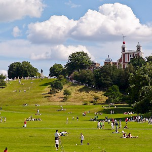 Greenwich Park and the Royal Observatory (Photo © Reid Bramblett)