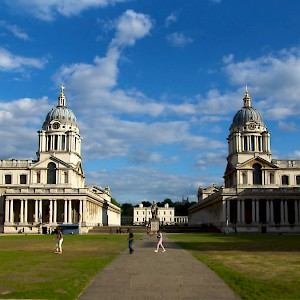 The Royal Naval College in Grenwich (Photo by Paul Hudson)