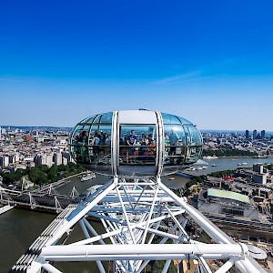 The view from the London Eye (Photo by salomon10)