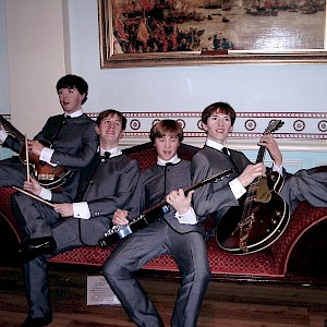 The Beatles at Madame Tussaud's, London (Photo by Andy Reising Follow)