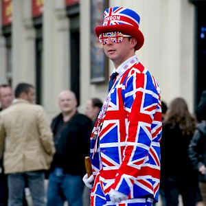 An excessively British gentleman in London (Photo by Camilo Rueda López)