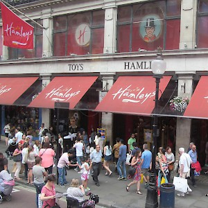Hamley's of London (Photo by David Holt)