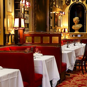 A dining room at Rules, London's oldest restaurant (Photo courtesy of the restaurant)