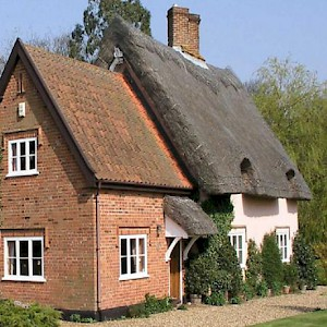 The Thatched Farm B&B, in an nature reserve east of Ipswich, charges just £85 per night (Photo courtesy of the property)