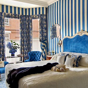 A room at the Egerton House Hotel, London (Photo courtesy of the hotel)