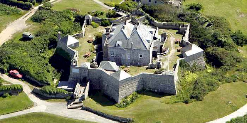 Star Castle Hotel, in an Elizabethan castle on the Isles of Scilly off the Cornwall Coast, Castle hotels, General (Photo Courtesy of the hotel)