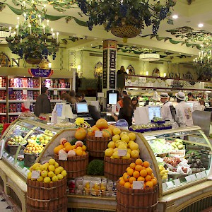 Harrods food halls have the most delectable foods and prepared dishes (Photo by Médéric)