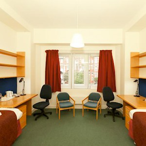 A room at the Beit Hall dorm (Photo courtesy of the Imperial College London)