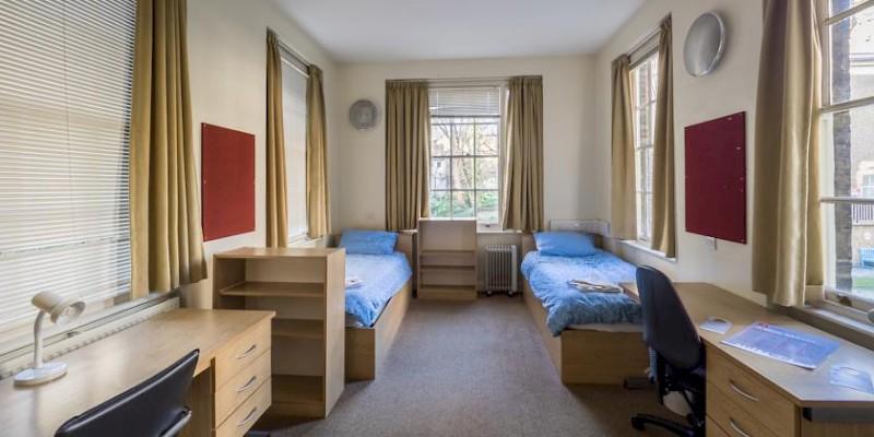 University dorms, England, U.K.