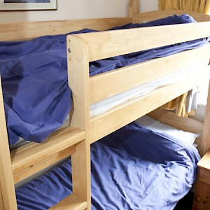 Bunks at the YHA London St. Pauls Hostel (Photo courtesy of the hostel)