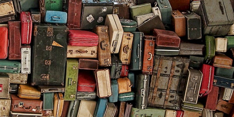 Luggage (Photo created by Reid Bramblett)