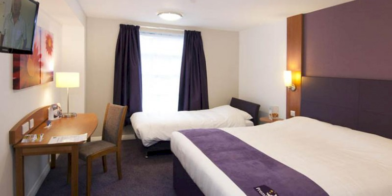 Premier Inn Twin Room Sofa Bed