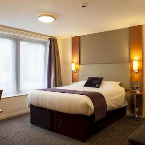 A room at the Premier Inn London Bank - Tower (Photo courtesy of the hotel)