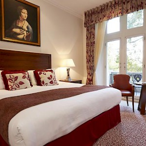 A room at The Royal Horseguards hotel (Photo courtesy of the hotel)