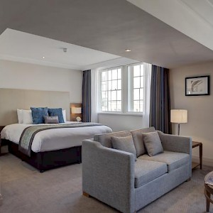 A room at the Amba Hotel Charing Cross (Photo courtesy of the hotel)