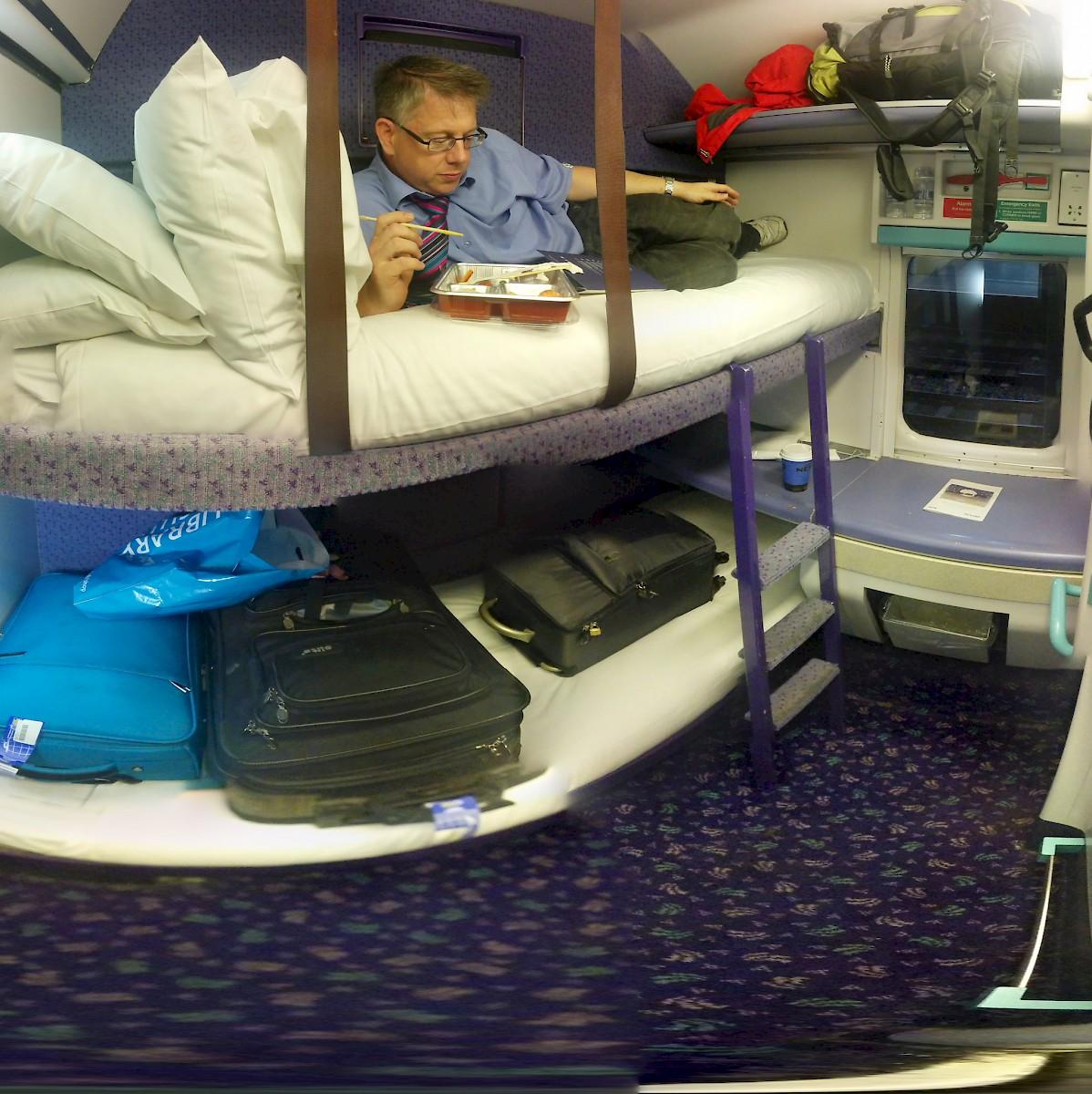 Overnight Trains England U K
