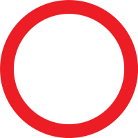 Road closed to all vehicles in both directions