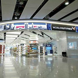 Duty Free in Terminal 5 of Heathrow Airport (Photo courtesy of Entertainment Technology)