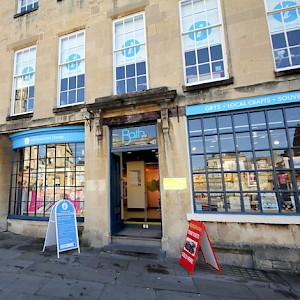 The Bath Visitor Information Centre (Photo courtesy of Visit Bath)