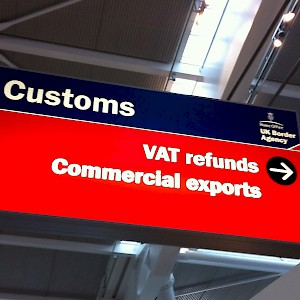 V.A.T.. Customs, or Duty-Free? (Photo courtesy of Global Blue)