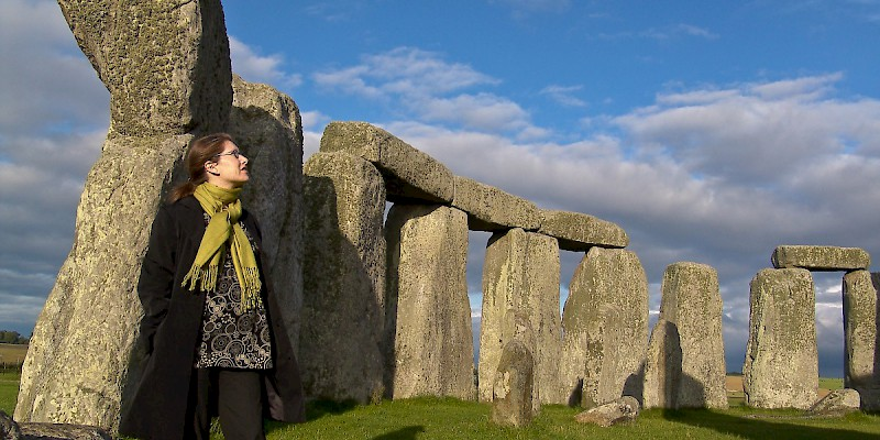 A tour inside the stone circle of Stonehenge (Photo © Reid Bramblett)