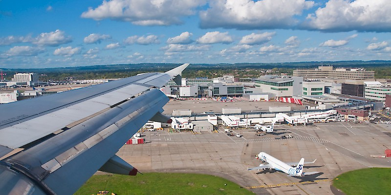Gatwick International Airport near London (Photo by Phillip Capper)