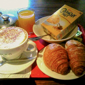 A basic continental breakfast is not worth the added expense (Photo by Karen Bryan)