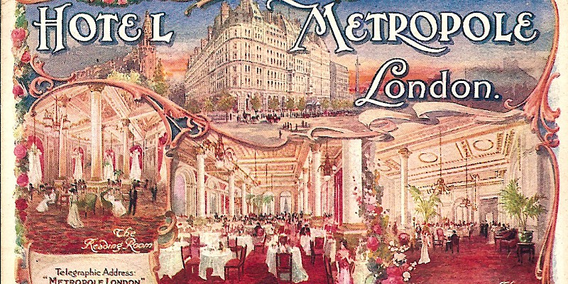 What British Hotels Are Like No London Don T Look They Did In 1883 And The