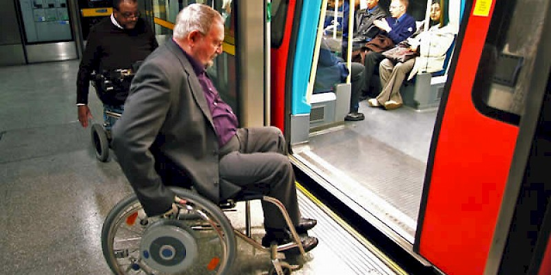 All London Underground trains are wheelchair accessible (Photo courtesy of Visit London)