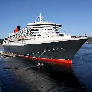 The Queen Mary 2 (Photo by Trondheim Havn)