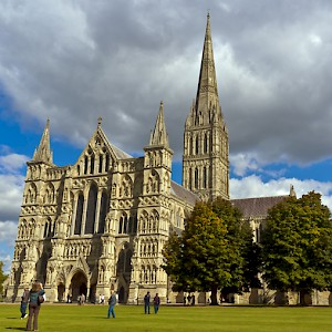 You can visit Salisbury Cathedral (and Stonehenge, Windsor Castle, and London) on a shore excursion from Southhampton (Photo by unknown)
