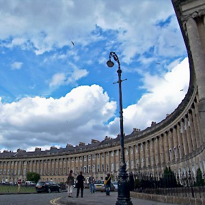 The Royal Crescent (Photo © Reid Bramblett)