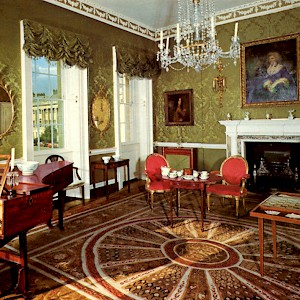 The Drawing Room at No 1 Royal Crescent (Photo by Roger W)