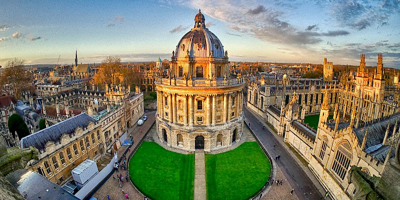 The Radcliffe Camera of the Bodelian Libraries in Oxford (Photo by Binayak Dasgupta)